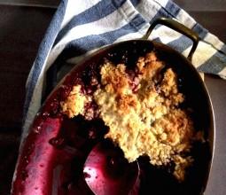 Crumble de Frutas Vermelhas - Dadivosa