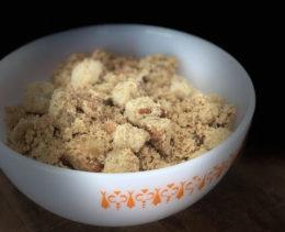 Farofa de Pão com Manteiga - Dadivosa